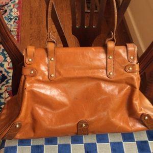 FENDI Bags - Fendi cognac leather embossed croc Magic Bag 5684a8254a440