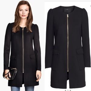 H&M Jackets & Blazers - [H&M]textured woven coat