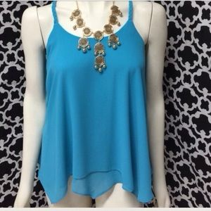🆕LISTING Turquoise T-Back Top ❗️SALE❗️