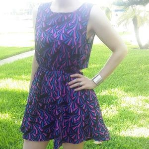 SALE! Purple & Pink High-low Dress