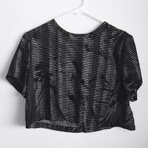 UO | Silence + Noise boxy crop top