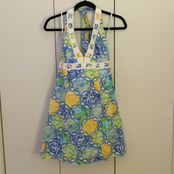 0a0bc321833 Lilly Pulitzer Dresses   Skirts - CLEARANCE Monkey and lemon printed Lilly  sundress
