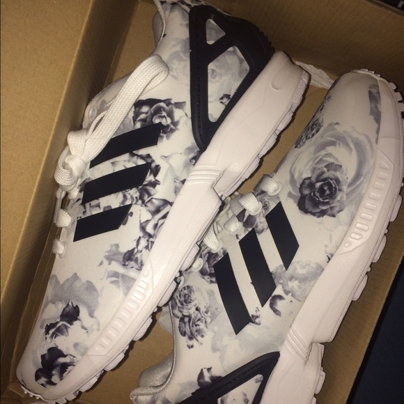 c999b1f3 Adidas Zx Flux White Flowers smithsestates.co.uk