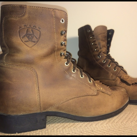 Ariat Lace Up Boots - Yu Boots