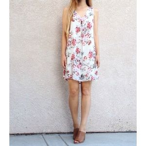 | new | floral shift dress