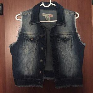 Jean vest