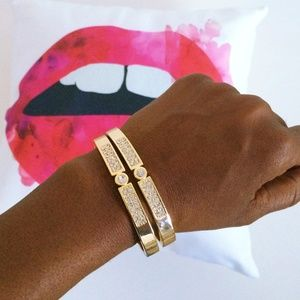Express Jewelry - Gold Bangles