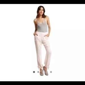 Ark & Co Pants - New LuLus Ark & Co sheer pink pants pockets S