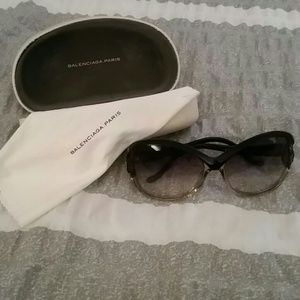 Balenciaga paris sunglasses