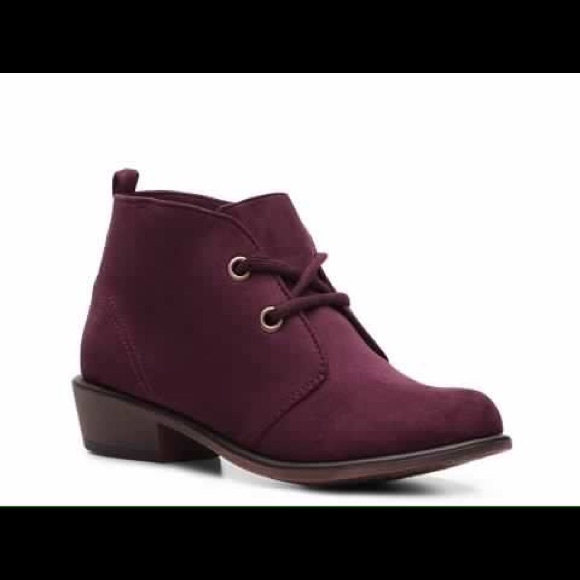 DSW Shoes   Dsw Burgundy Lace Up Suede
