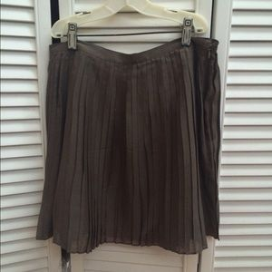 J. Crew pleated skirt