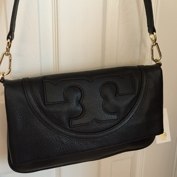 26e940dbad56 Tory Burch Black Leather