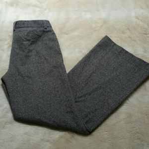 J. Crew Wide Leg Tweed Dress Pants
