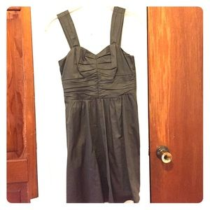 Fit & Flare Brown Party dress from Express