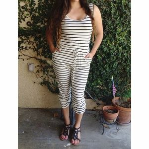 SALE🎈 Stripped pant romper