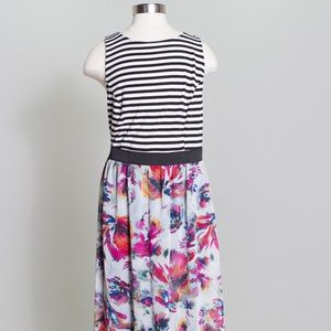 Exhilaration  Dresses & Skirts - [xhilaration] long print dress