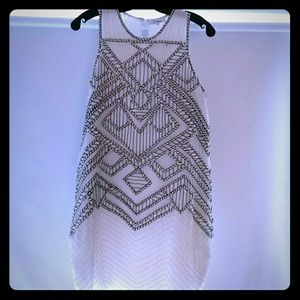 Parker Allegra Sequined Dress