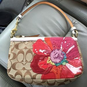 Coach bags poppy small wristlet flower mini purse rare poshmark coach bags coach poppy small wristlet flower mini purse rare mightylinksfo