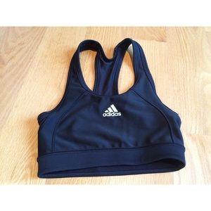 *NEW* Adidas Tech-Fit Black Mesh Sportsbra