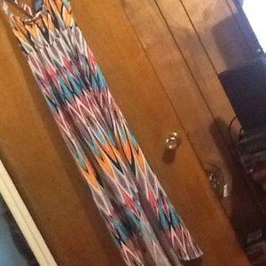 Nicole Miller colorful dress