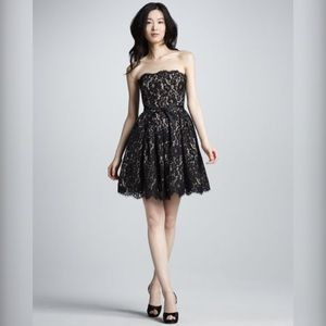 SALEBlack Lace Sweetheart Dress