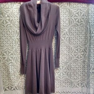 BCBG cowl neck dress