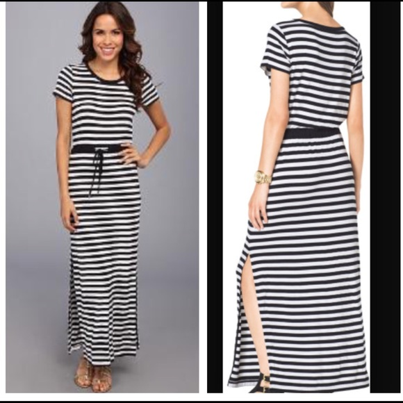 3a22506fb288 MICHAEL Michael Kors Dresses | Michael Kors Striped Maxi Dress ...