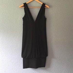 Black ABS dress