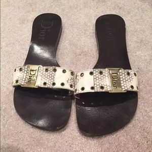 Dior slip on flats size 9