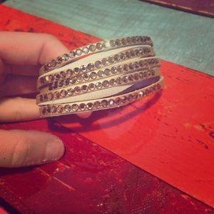 Jewelry - Stone multi layer cuff