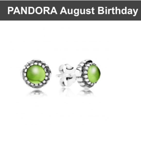 Pandora December Birthstone Earrings: Pandora Birthstone Earrings From