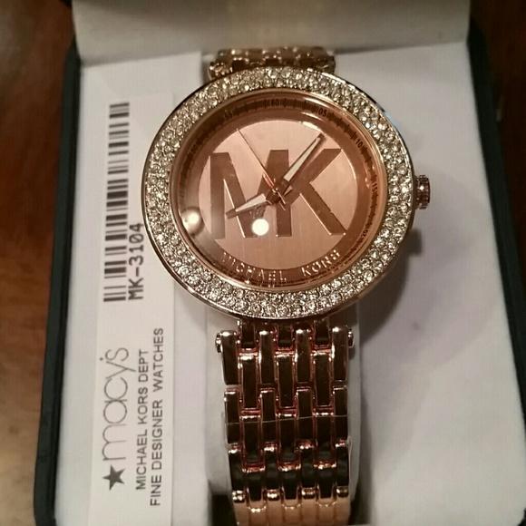 20ad95535c6 Michael Kors watch. Rose Gold