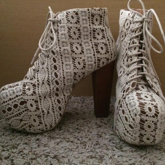 14 off jeffrey campbell shoes jeffrey campbell lita platform booties from ahlisa 39 s closet on. Black Bedroom Furniture Sets. Home Design Ideas