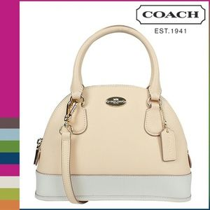 NWT Coach leather satchel