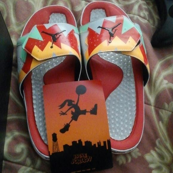 759aa93fae8b Jordan Shoes - Hare hydro jordan slides