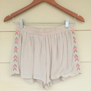 Pants - Taupe Shorts