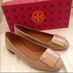 Tory Burch Yardley Patent Flat