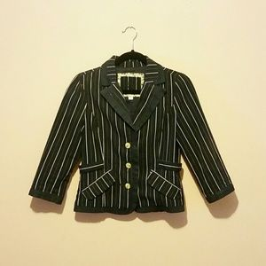 SOLD - Roxy 3/4 Sleeve Blazer - Size M