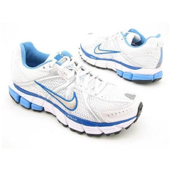 buy online e97bc a7ab9 White & blue Nike Air Pegasus 25 running shoes