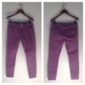 NWT Banana Republic Purple Jeans Size 27