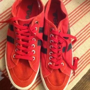 Gola Shoes - Gola red navy sneaker tennis shoe 6