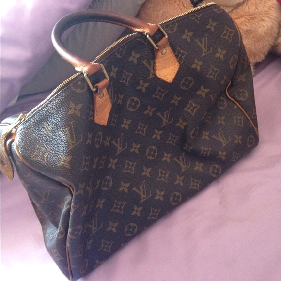 louis vuitton used. louis vuitton speedy used \u0026needs to be cleaned n