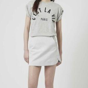 Topshop Dresses & Skirts - NEW!  Topshop Textured Curved Hem Pelmet skirt