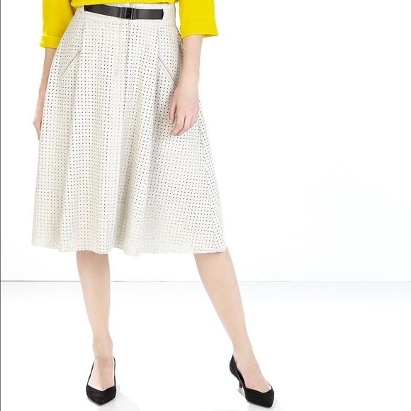 593c75cf2d Zara light grey perforated midi skirt. M_5586f5378ae33e5a79009ec1