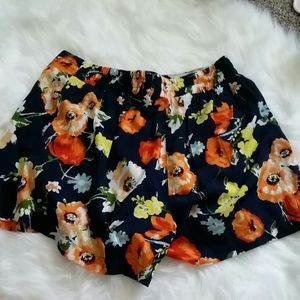 Other - Navy Floral Shorts