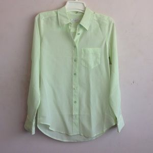 Equipment Brett Mint Green Equipment Blouse!