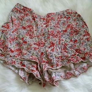 ONE HOUR SALE!! Floral Flowy Shorts