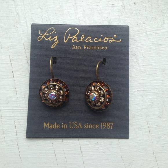 3eedb5acb9fca Liz Palacios dangle earrings NWT