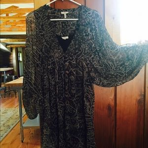 Joie long sleeved dress mini dress. Worn once. XS