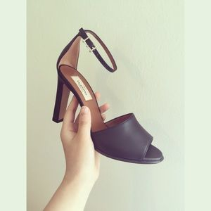 Valentino Black high-heeled sandals